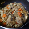 幸運な病のレシピ( 1657 )朝 :手羽先の炒め煮しめ、鮭、味噌汁