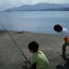小樽で初めての釣り体験