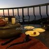 台湾旅行 九份【海悦楼茶坊】で素敵な景色と寛ぎの時間 東方美人茶お菓子セット