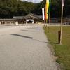 友泉亭から護国神社ヘ(予定外)