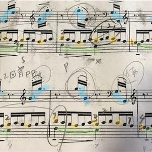 音色の違いがわからなくなったのかモヤモヤして、とりあえず動きある曲を!