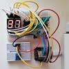 ESP8266で2桁の7セグメントLEDを7セグメントドライバ(74HC4511)を使って制御してみた