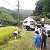9月雨の中の稲刈り【おかざき森のようちえん】
