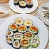 おうちで海苔巻き三昧(3日分の記録)/My Homemade Dinner/อาหารมื้อดึกที่ทำเอง