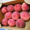 今年、初めての桃を買いに