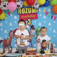 ほーちゃん3歳誕生日🎂【人気インスタグラマー@ask_____10ブログ】