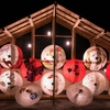 和傘の魅力!熊本県山鹿市の真冬の祭りに行ってきた