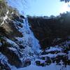 高瀑 西日本最大の氷瀑は息を呑むスケールだった