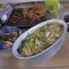 幸運な病のレシピ( 739)昼:青梗菜炒めで皿うどん(ブータン風)