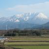 岡山鳥取鉄道旅行3  快速とっとりライナーから「大山」を撮る