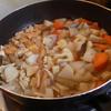 幸運な病のレシピ( 1199 )昼:「2019年のタケノコ」初物、「平野屋バンケット」幸運な病の宴(1)、煮しめ、五分乾きニシンの煮付け