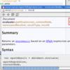NetBeans の JavaScript のヒントの実装を読む