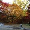長野県内最古の曹洞宗寺院、大町市「霊松寺」の紅葉