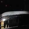 雪がちらついてきました。