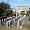 【水戸の風景】堀町公園墓地内、水戸陸軍墓地