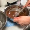 テンパリング水冷法における湯煎の温度とは。