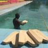 木製ビート板 完成