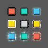 【Unity】UI でアウトラインや後光を実装できる「UIOutline」紹介