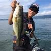琵琶湖初バスボート