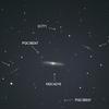 絶妙なバランス NGC4216 おとめ座 棒渦巻銀河