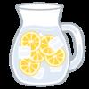 今年も始めた、レモン水