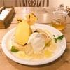 レモンの花のハチミツとろ〜り♪レモン尽くしの爽やかパンケーキ(cafe accueil @恵比寿)