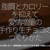 412食目「脂質とカロリーを抑えて愛情増量の手作り生チョコのつくりかた」まだ間に合う!管理栄養士の私がすすめる動画で簡単レシピ