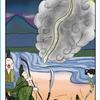 今日の日本昔話タロット 「竹取物語ペイジ」