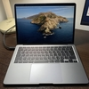 新型Macbook AirとDellのUSB-C接続モニターを購入しました