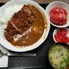 西川口の「あおき食堂」でチキンカツカレー定食を食べました★