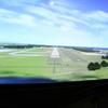 航空プラザには本物のフライトシミュレーターがある