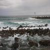 日本海と蟹の町