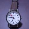 【鉄道部品系】 鉄道デザインの腕時計。海外版。オレのおすすめはモンディーン(スイス製)。