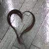 髪の毛アート