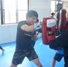 朝からキックボクシングで1日が充実!!