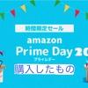 Amazonプライムデー2020で購入したもの