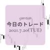 FXトレード記録(2021.7.20)