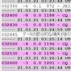 ドリフト 〜 VUHF のFT8で最近多いです…