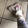 開運!玄関の土間の水拭き & シャウミトン⁉︎