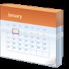 """万年カレンダーに""""なる""""方法"""