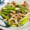 「豚肉・アスパラ・舞茸のバターポン酢炒め」は永久保存版のあさイチレシピ