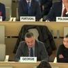 第40回人権理事会:スリランカにおける人権の状況に関する双方向対話/ウクライナにおける人権状況に関する双方向対話を終結