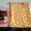 初めての巾着作りと、趣味について