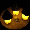 【工作動画】Healing lamp フェルトのお家を作ってみた