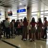 ベトジェット(VietJet Air)に乗るときは、帽子の集団に注意!