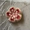 つまみ細工  丸つまみからの桜の作り方🌸