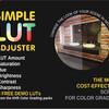 【Unity】LUT を使用できる「Simple LUT Adjuster」紹介