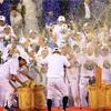 プロ野球でチームが優勝したときに、なぜビールをかけるのか!?