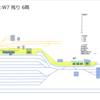 1月11日長野新幹線車両センターの状況