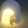 【Unityシェーダ入門】暗闇から光が溢れ出るライトブルームの演出をする